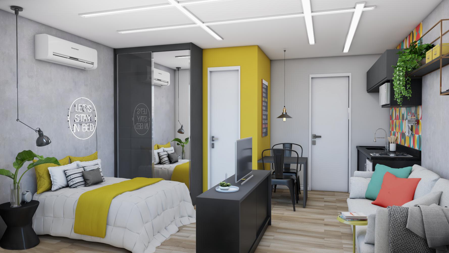 arquiteto de apartamento studio