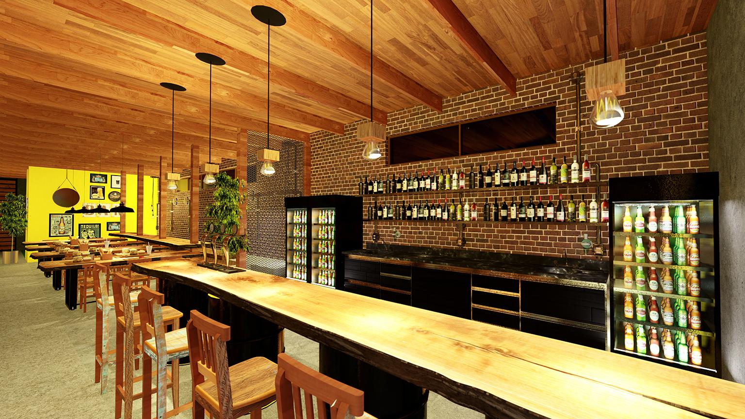 Arquitetura Comercial Cervejaria