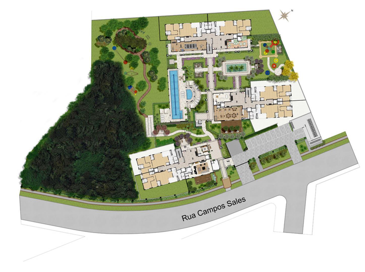 arquitetura mercado imobiliario planta