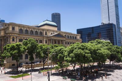 construções arquitetônicas famosas - biblioteca nacional do brasil